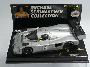 Minichamps 1:43 Michael Schumacher Mercedes C291 Ein faszinierendes Fahrzeug 92