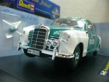 WOW EXTREMELY RARE Mercedes W120 180D Ponton 1955 Police Hamburg 1:18 Revell-123
