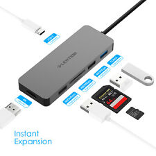 LENTION USB C to USB 3.0 HDMI SD Reader Adapter for Apple MacBook Pro PD Charger