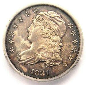 1831 Capped Bust  Dime 10C Coin - Certified ICG MS60 (UNC) - $812 Value!