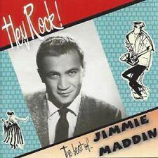 JIMMIE MADDIN Hey Rock! CD NEW original tracks 1950s Rock 'n' Roll Rockabilly