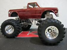 Aluminum 12mm hex Rims Wheels ClodBuster RedCat Ground Pounder Traxxas BigFoot