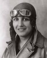 OLD LARGE PHOTO AVIATION HISTORY French Pioneer Aviator Maryse Bastie c1920 3