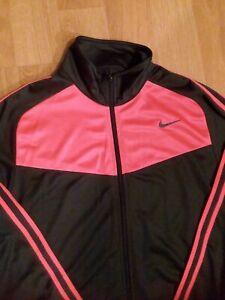 Nike Jacket Sport Training Athletic Unisex Gray and Pink Size M VGC
