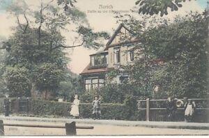 Ansichtskarte Niedersachsen   Aurich  Partie an der Gartenstrasse   1914