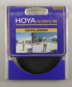 PRL) HOYA 67 mm CIR POLARIZZATORE FILTRO FILTER FILTRE FILTAR FILTRU FOTO PHOTO