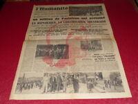 """[ Press WW2 39-45] """" L'Humanities """" #288/15 & 16 July 1945 Marianne"""
