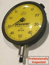 Mahr Federal Q6i Ansiagd Group 3 Dial Indicator 0 25mm Range 001mm