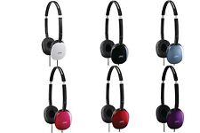 JVC HAS160 FLATS foldable Lightweight Headphones/Earphones for MP3/Tablet/Radio