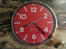 Projects Witherspoon Red Wall Clock Michael Graves New In Package