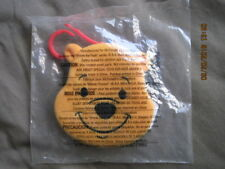 WINNIE the POOH Message Pad McDonalds Happy Meal Toy 2001 Disney A.A. Milne