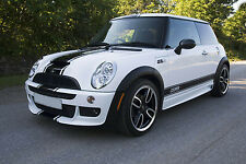 Genuine 3M vinyl side stripes, bonnet, roof & rear decal kit for Mini Cooper S