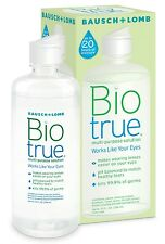 2 x 300 ml Bausch & Lomb BioTrue Multi-Purpose Contact Lens Solution Twin Pack