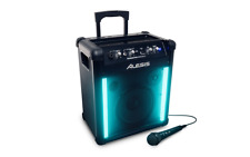 Alesis TransActive Wireless 2 Portable Rechargeable Bluetooth Speaker & Lights