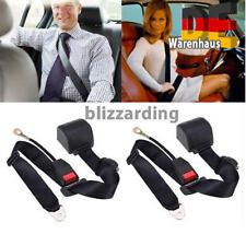 2x Universal 880MM 3 Punkt Automatik Sicherheitsgurt Stalk Autositz Beckengurt