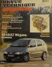 Revue technique RENAULT MEGANE SCENIC BERLINE COUPE MONOSPACE ES RTA 593 1997