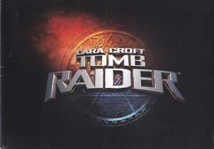 brochure dépliant 2001 LAND ROVER DEFENDER TOMB RAIDER !!! V8 Pickup_en français