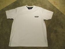 VINTAGE Tommy Hilfiger Shirt Adult Medium Flag Sport White Dri Fit 1985 Mens