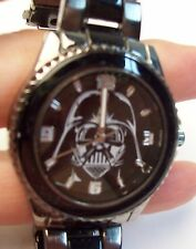 STAR WARS DARTH VADER Men's Black Watch - 2000  Never Used