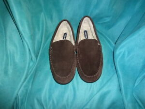 Lands' End Moccasin Slippers for Men