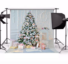 Indoor Sweet Christmas Tree Gifts 10x10' Photography Backgrounds Photo Backdrops