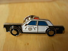 USA Old style police car pin badge. California Highway Patrol.  NYPD CHIPs