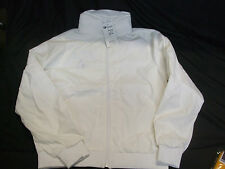 Champion Skippers Lawn Bowls Waterproof Jacket, White, Size Medium