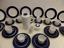 Konvolut 39 Teile Kaffeeservice 12 Pers. Rosenthal Variation Secunda Porzellan