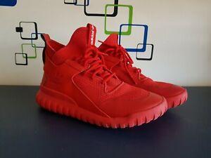 Adidas Tubular x Circular Red Us9.5