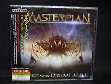 MASTERPLAN Keep Your Dream Alive JAPAN 2CD Helloween Gamma Ray Stratovarius