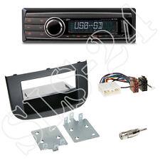 Caliber rmd212 SD Radio + Mitsubishi Colt 2-din panneau noir + Adaptateur ISO