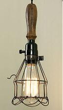 Vintage Replica Rustic Industrial Classic TROUBLE LIGHT Pendant Light Lamp
