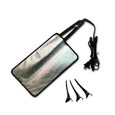 SydneySalonSupplies HEAT MAT + 3 CLIPS *Pouch for Hair Straightener/Curling Iron