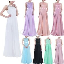 Women Long Formal Dress Prom Bridesmaid Evening Party Wedding Cocktail Ball Gown