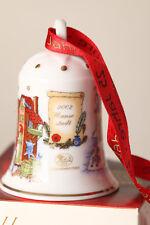"""Hutschenreuther Weihnachtsglocke 2002  """"Hansestadt""""  in OVP (55186)"""