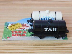 Vintage ERTL Thomas the tank engine & Friends Tar & Milk Wagon