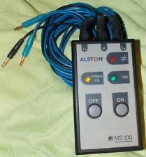 Alstom MS 100 ALS-QMS100 Phasenvergleichsgerät, Phasenlage Stromverteilung