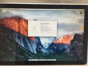 "Apple iMac 20"" Mid 2007 2GHz Intel Core 2 Duo 4GB RAM 2TB HD El Capitan"