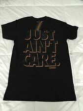 Hoonigan Just Aint Care Premium Shirt Men's Adult Medium Black