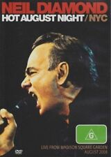 NEIL DIAMOND HOT AUGUST NIGHT/NYC LIVE FROM MADISON SQ. DVD ALL REGION NTSC NEW
