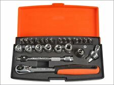 Bahco - SL24 Socket Set of 24 Metric 1/4in Drive