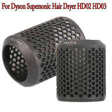 Hair Dryer Filter Cover Cap Case for Dyson Supersonic Hair Dryer HD02 HD03 Black