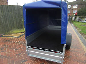 New 8FTx4FT Trailer BOX Camping  2,50 x 1,12 m + 120 cm from FLOOR to TOP COVER