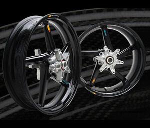 BST Carbon Fiber Front & Rear Rims Wheels Yamaha YZF R6 YZF600 Rim, Wheel Set