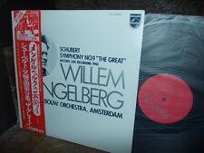 "SCHUBERT: Symphony n°9 ""Great"" > Mengelberg 1940 /Philips PC-5555 mono Japan LP"