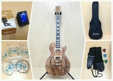 Haze E-239GC Semi-hollow Spalt Maple Electric Guitar with Accessories