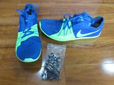 NEW Nike Zoom Forever 5 XC Spikes Running shoes MENS 9 Blue Green 904723-403 $90