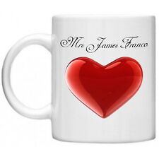 James Franco Mrs Celebrità cimeli cinematografici Novità Tea Caffè Tazza Mug