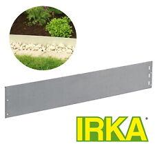 IRKA Rasenkante Metall 18cm x 100 x 1mm  mit Versteifungskante Hangleiste
