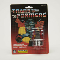 Transformer G1 minibot autobot Windcharger reissue brand new shipped by speedpak